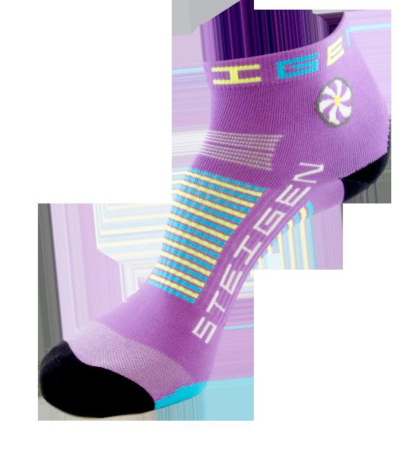 Fluro-Purple-Quarter-Length