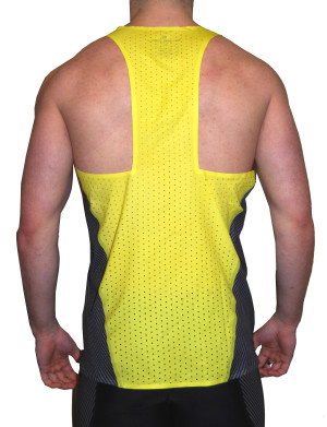Yellow Singlet - Back