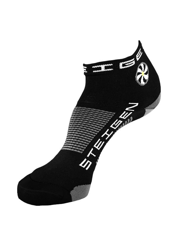Black-Running Socks-quarter