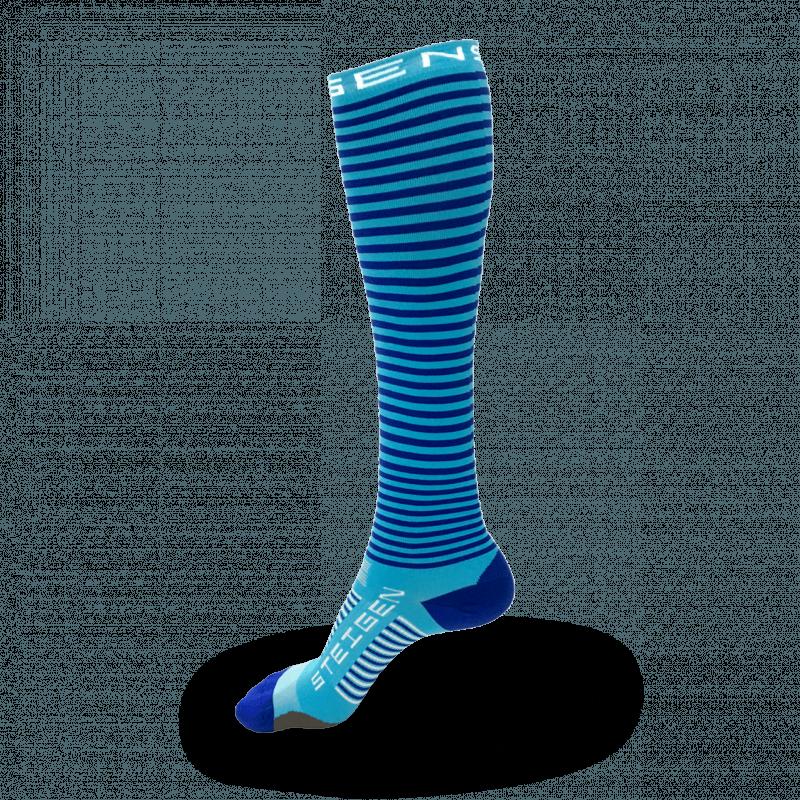 Blueberry Running Socks Full Length