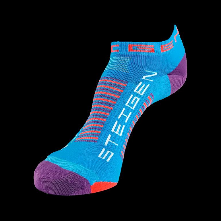 Galaxy Blue Running Socks Zero Length