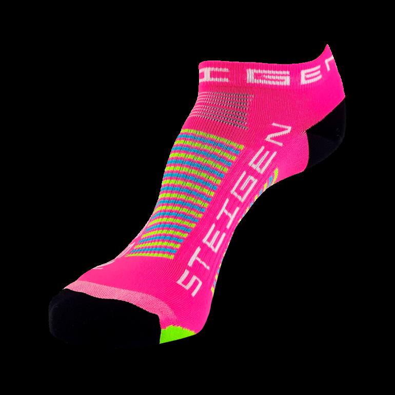 Pink Tutti Frutti Running Socks Zero Length
