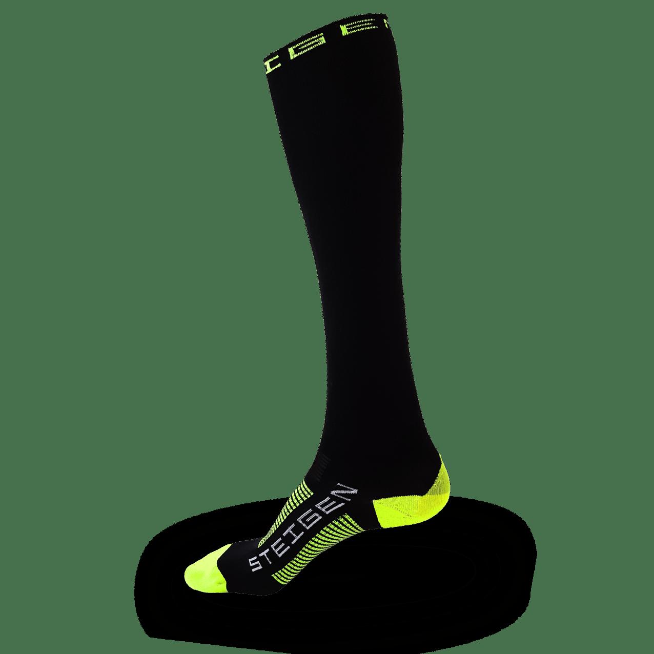 Black Running Socks Full Length