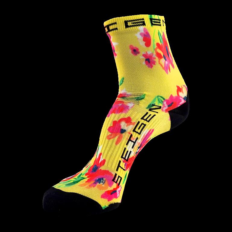 Spring Floral Running Socks ½ Length