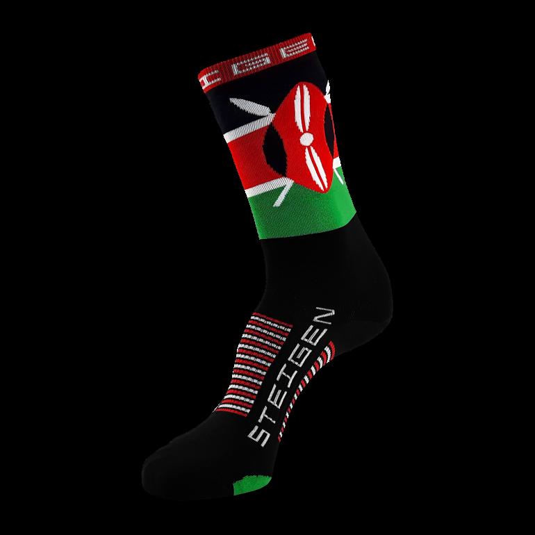 Kenya Running Socks ¾ Length