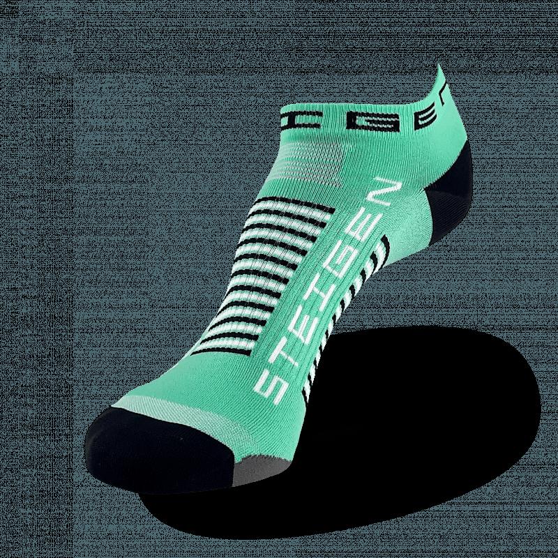 Mint Green Running Socks Zero Length