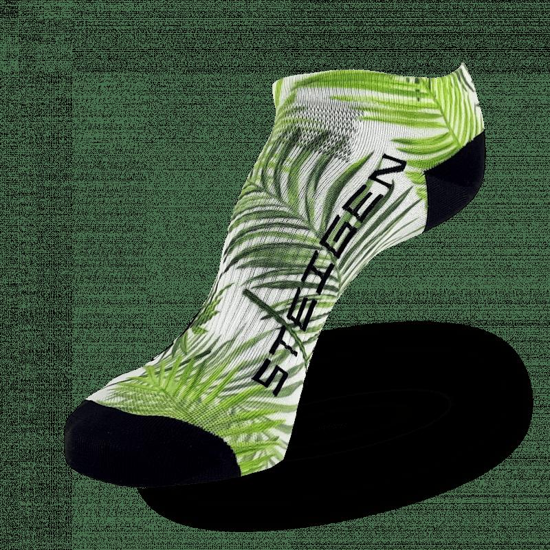 Palm Tree Running Socks Zero Length