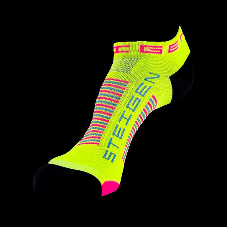 Sherbet Yellow Running Socks Zero Length