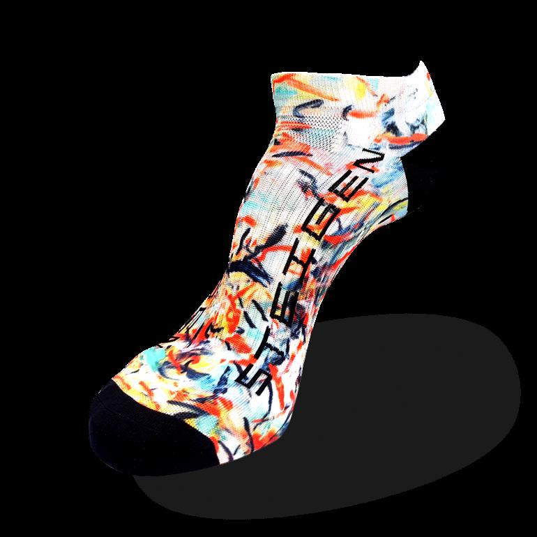 Dance Brolga Dance Running Socks Zero Length
