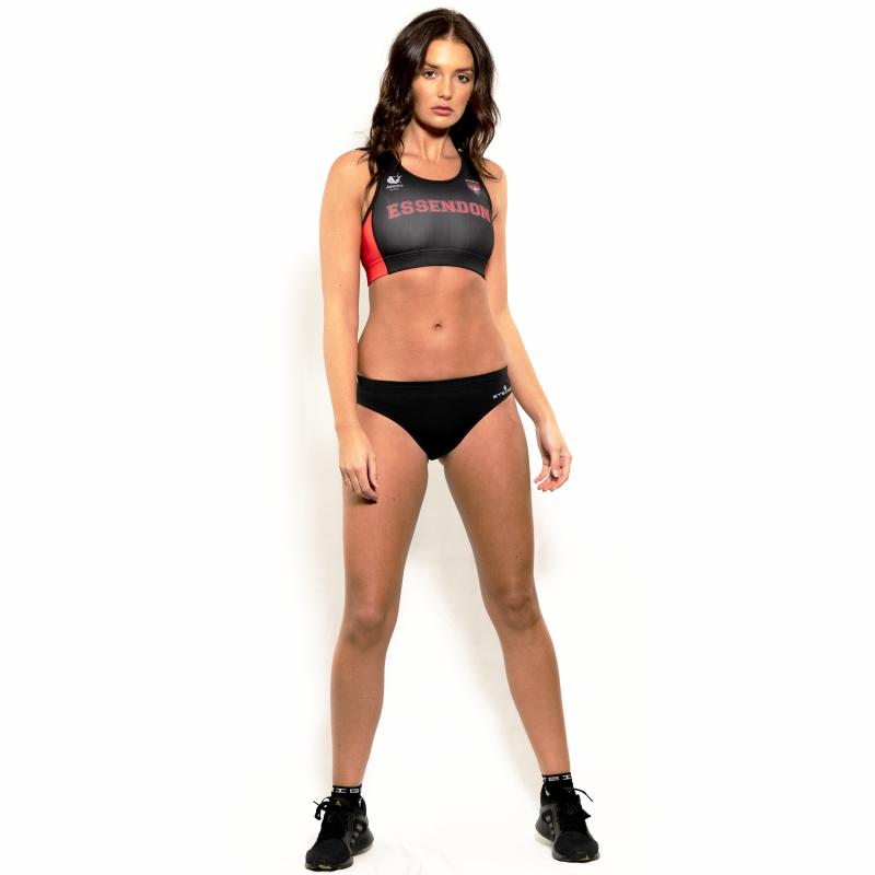 Women's Sprinting Briefs – Black