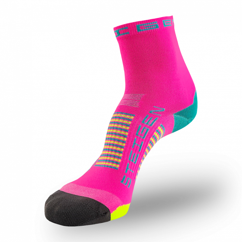 Pink Candy Running Socks ½ Length